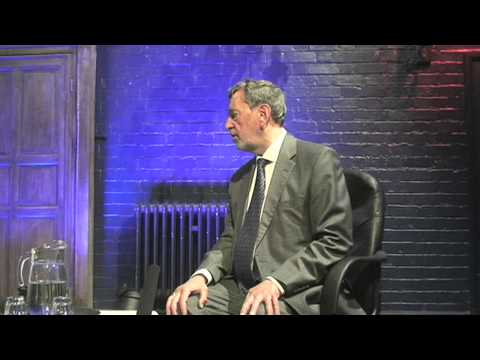 Lord David Blunkett interviewed by RNC student Kyle Phillips; I Can campaign