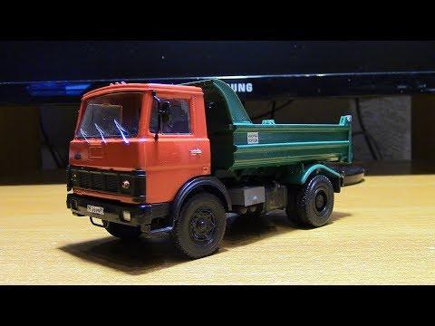Собрал набор за 700 рублей МАЗ 5551 AVD Models