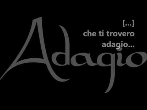 Adagio (Versione maschile) - Karaoke