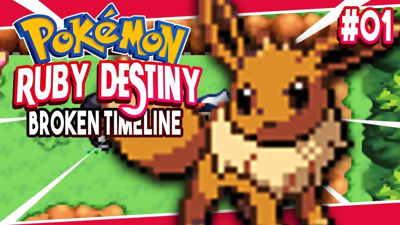 Pokemon Ruby Destiny Broken Timeline Part 1 TEAM ROCKET GOOD? Pokemon GBA  Rom Hack