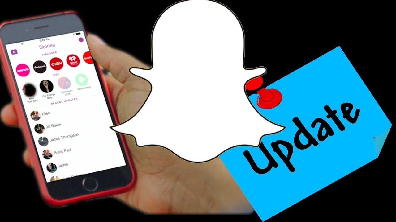 Gamla Snapchat