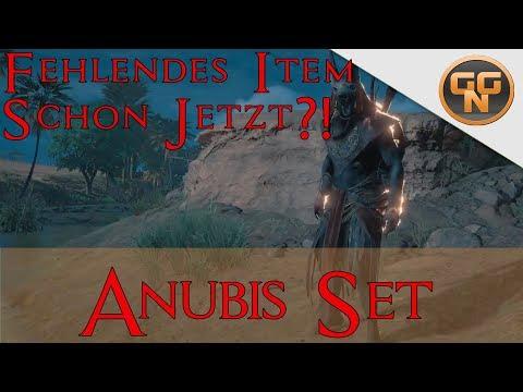 Assassins Creed Origins - Anubis Set komplett ?! - Ist das Anubis Set schon morgen komplett?
