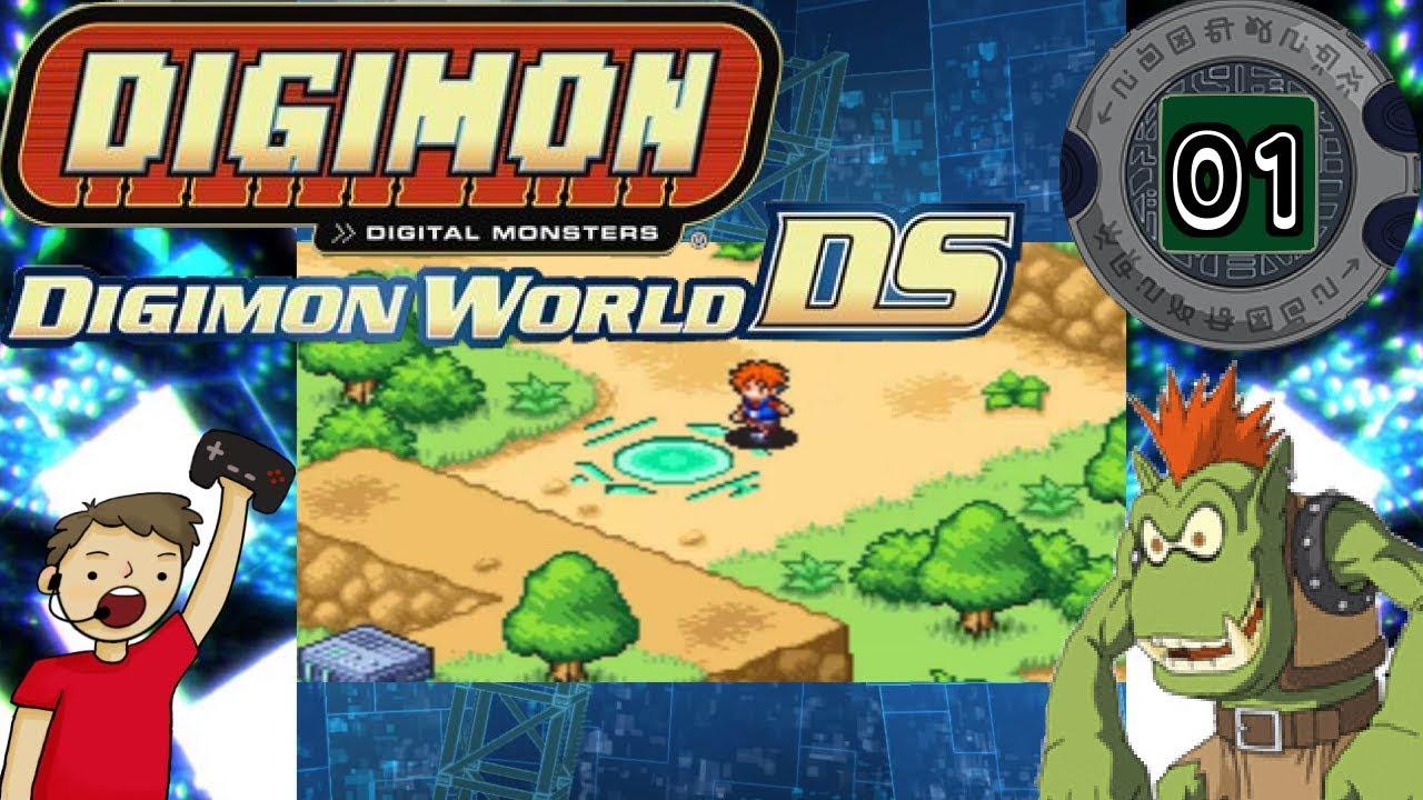 Digimon World DS Episode #1: Starter Digimon
