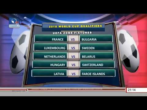 Sports Tonight: 2018 FIFA World Cup Qualifiers Across The Globe