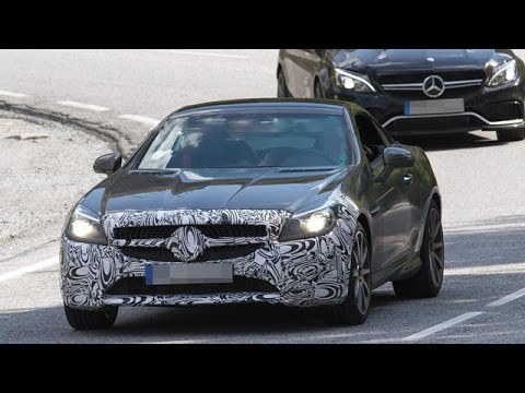 2016 Mercedes-Benz SLC 450 AMG Sport Spied Testing First Time