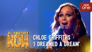 Chloe Griffiths performs