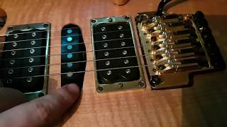 Rewiring a guitar for Dimarzio Pickups