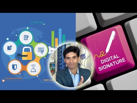 Digital Signature detail explanation in Hindi. How to Apply and get this Signature?