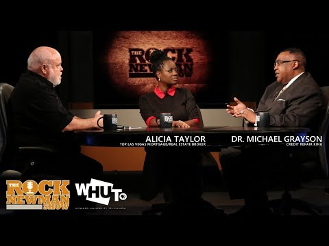 Alicia Taylor & Dr  Michael Grayson on The Rock Newman Show