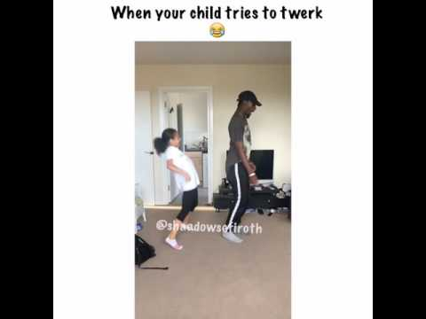 When your child tries to twerk