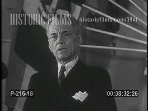 1940s US Reel - Philippines President Manuel L. Quezon