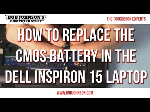 How To Replace The CMOS Battery In The Dell Inspiron 15 Laptop