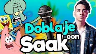 FANDUB (Doblaje Bob Esponja) con Saak / Memo Aponte
