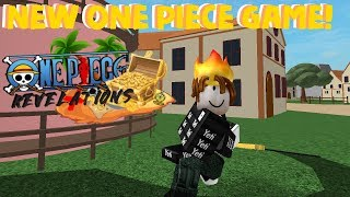 NEW ROBLOX ONE PIECE GAME! | One piece Revelations testing