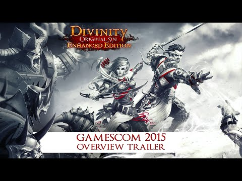 DIVINITY ORIGINAL SIN ENHANCED EDITION - CONSOLE OVERVIEW TRAILER [GAMESCOM 2015]
