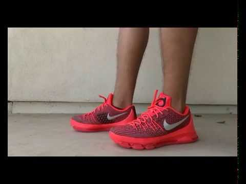 87dfc59a76b BEST KEVIN DURANT 8TH SNEAKER YET!  KD 8 CRIMSON