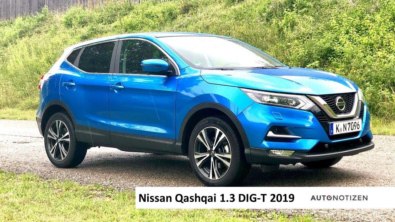 Nissan Qashqai 1.3 DIG-T (160 PS) 2019 Review, Tes ...