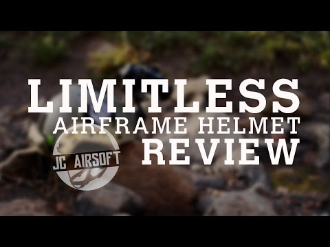 """JC Airsoft """"Limitless"""" Airframe Helmet Review"""