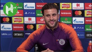 Manchester City v Shakhtar | Kyle Walker: Raheem Sterling can become one of the world's best players