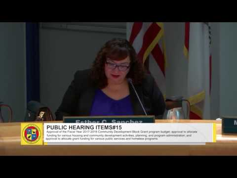 Oceanside City Council Meeting - March 1, 2017 Part 2