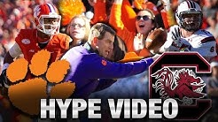 Clemson vs. South Carolina Hype Video
