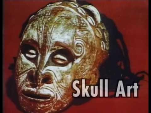 Skull Art in Papua New Guinea - PREVIEW