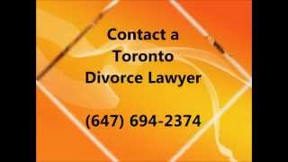 Toronto Divorce Lawyer: (647) 694-2374 | CALL US!