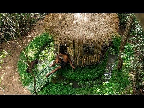 Build a bamboo fish pond - Raising Catfish