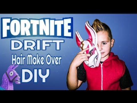 DIY Fortnite Hair Make Over (Drift Cosplay)
