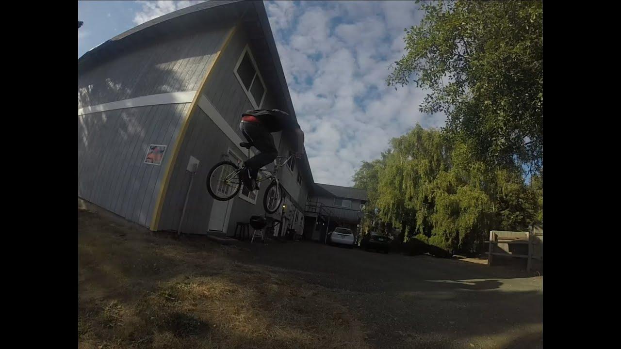 badass backyard bmx dirt jump youtube