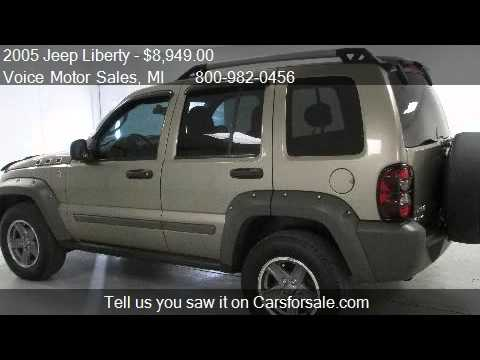 2005 jeep liberty renegade 4x4 for sale in kalkaska mi for Voice motors kalkaska michigan