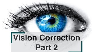 Vision Correction Part 2- Nutrition and Chiropractic