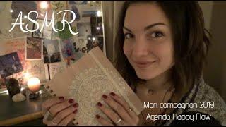 ASMR 🎧 Mon agenda HappyFlow inspirant et motivant 2019 * Challenge Novembre