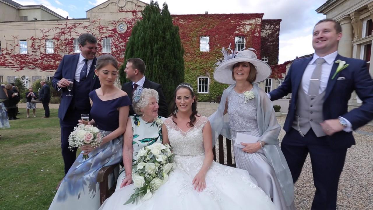 Lisa Stuart Wedding Film At Down Hall Country House Hotel Essex UK