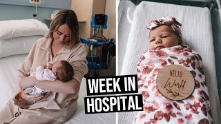 Week in Hospital with a Newborn + Bringing Baby Home!