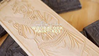 Crafts of Vietnam: Woodblock Paintings