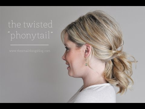 The Twisted Phonytail Youtube