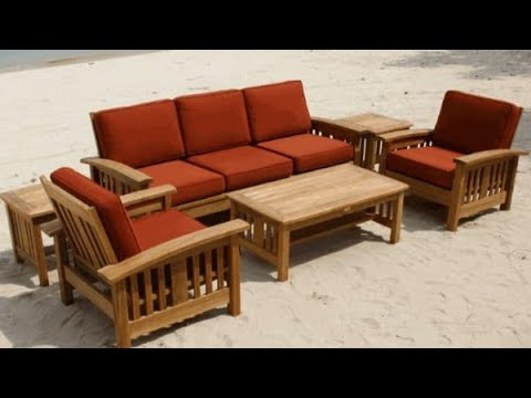 Amazing Simple design wooden sofa set and ideas 💡 || Sofa ...