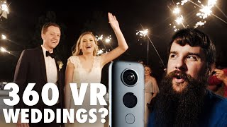 Time to film weddings in 360? | Insta360 One X Review