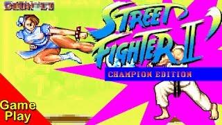 STREET FIGHTER II : Champion Edition - full gameplay
