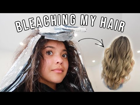 Going Blonde Hair Transformation!