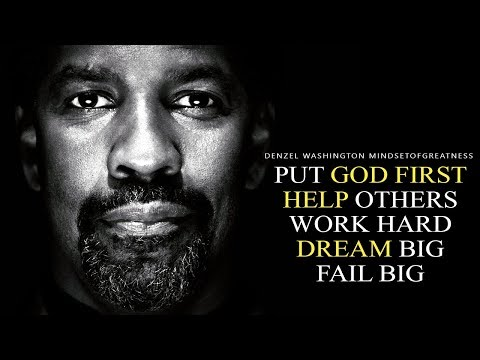 Denzel Washington - Motivational Speech & Video