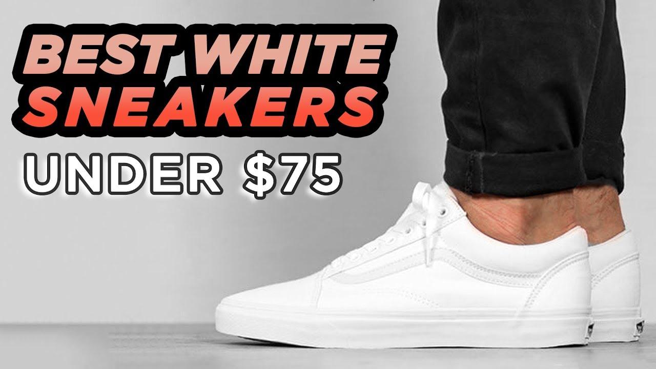 Top 6 Best White Sneakers Under $75