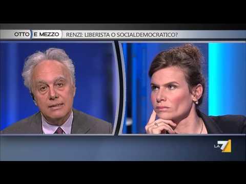 Otto e mezzo - Renzi: liberista o socialdemocratico? (Puntata 16/06/2014)
