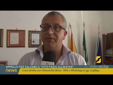 Appello per il trasferimento del Vito Fazio Allmayer di Alcamo