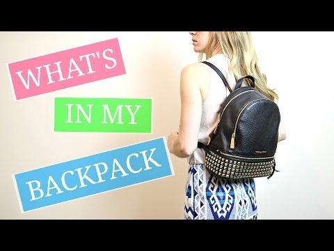 7717b6275408f WHAT S IN MY MICHAEL KORS BAG! - YouTube