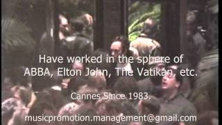 2013 CANNES FILM FESTIVAL - License music for movies or stage