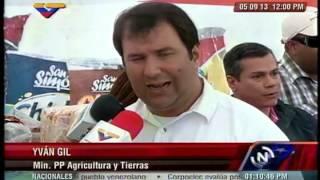 CVAL expende 19 toneladas de alimentos en municipio Sucre del estado Miranda