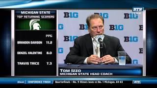Tom Izzo at Big Ten Media Day