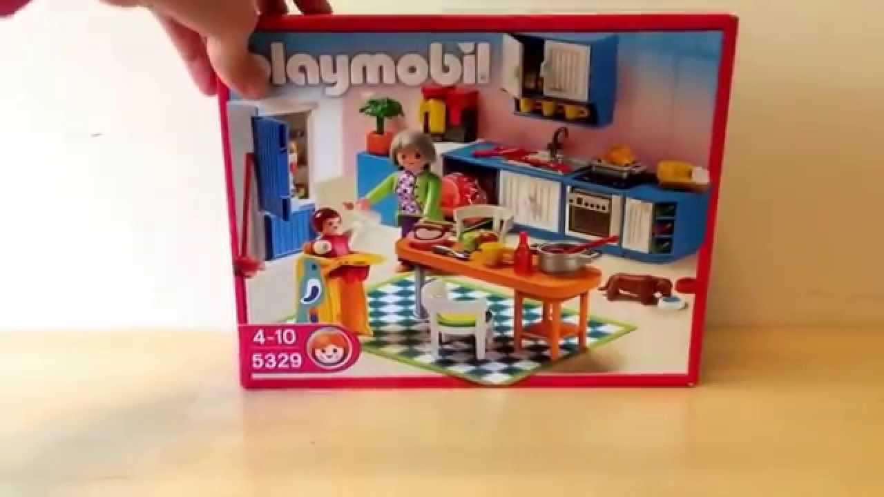 playmobile kitchen 5329 - youtube